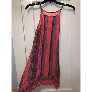Beautiful Colorful Lulu's Tank Top Dress